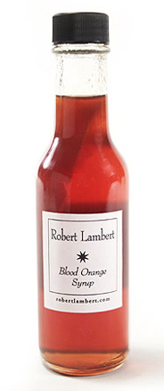 Blood Orange Syrup - Robert Lambert
