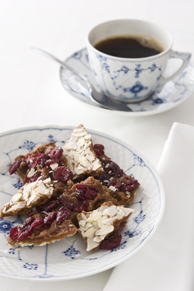 Cranberry Almond Toffee