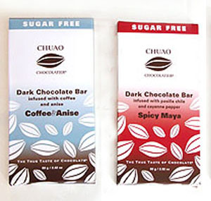 Chuao Chocolatier Sugar-Free Chocolate Bars
