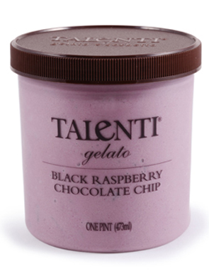 Talenti Black Raspberry Chocolate Chip Gelato
