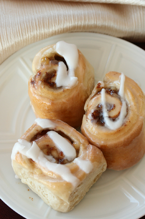 Low Fat Cinnamon Buns