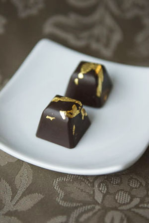 Gold Leaf Chocolates