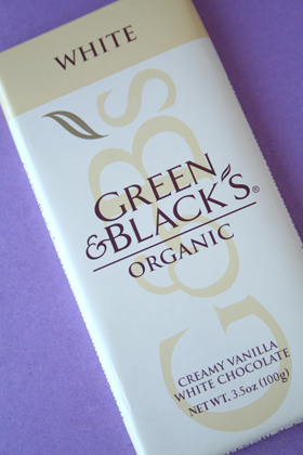 Green & Black's White Chocolate