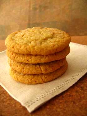 Organic Lemon Ginger Cookies