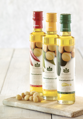 Flavored Macadamia Oils