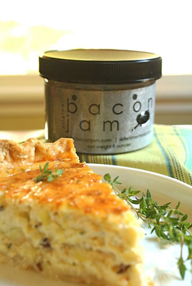 Quiche & Bacon Spread