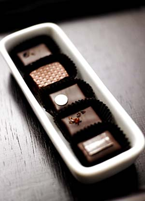 Theo Chocolate Bonbons
